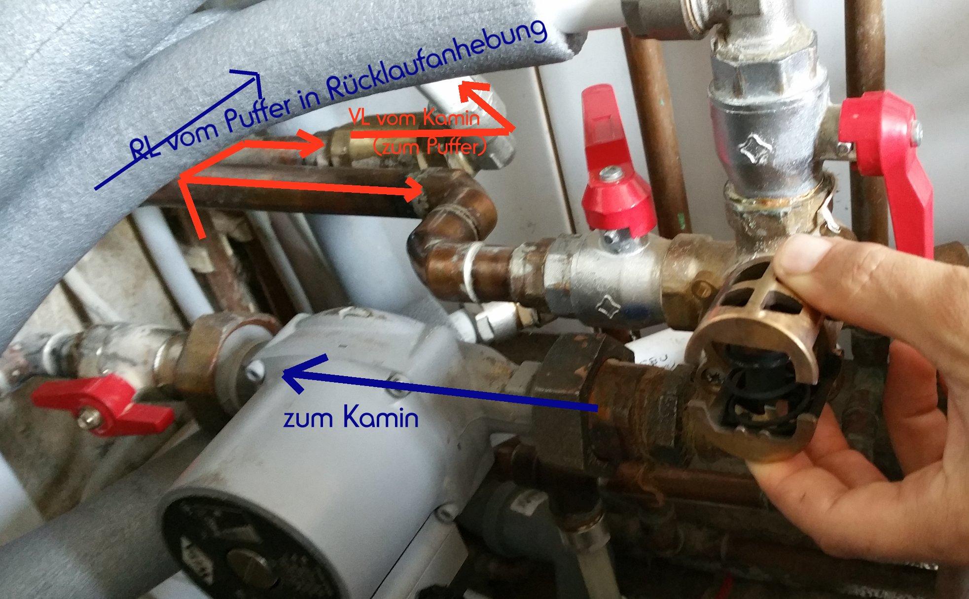 Kaminofen Mbs : Temperatur wasserf?hrender kamin zu hoch mbs thermo vaillant therme trotz pufferspeicher