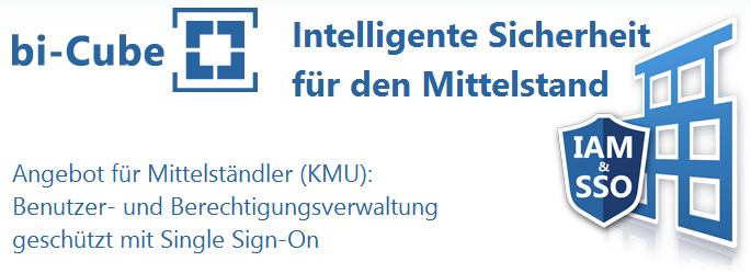 IT - Identity Management mit Single Sign-On für den Mittelstand