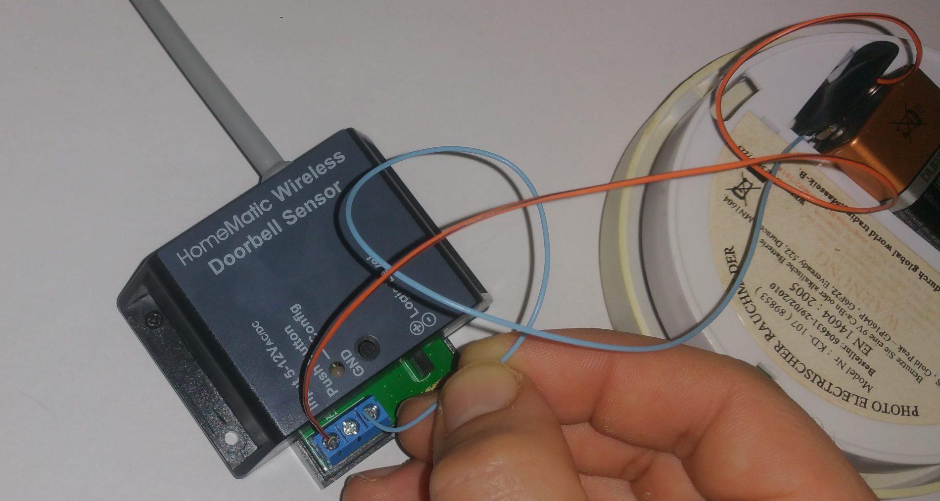 HM-Sen-Db-Pcb-Funktionstest 9VBlock FHEM